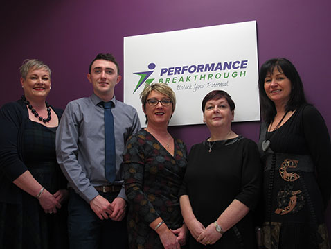 Get In Touch Performance Breakthrough Team