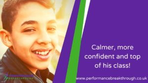 calmer, more confident top of the class