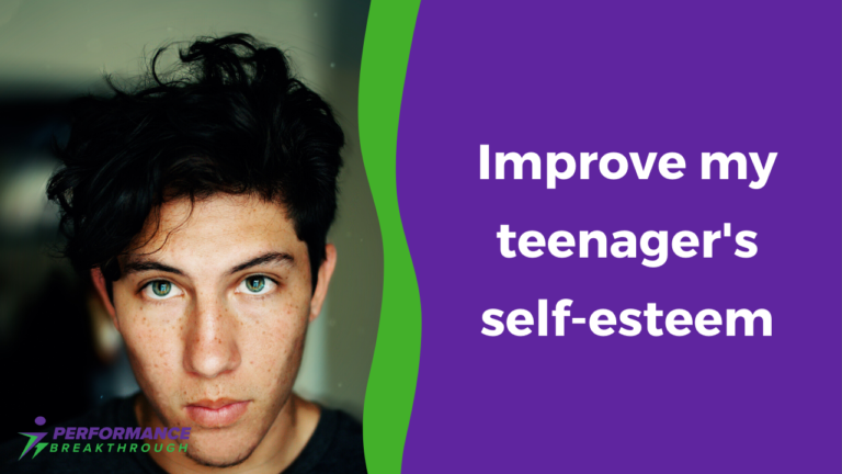 Improve teenage self esteem